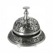 Clopotel de receptie argintiu antichizat