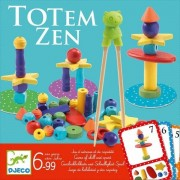 DJECO Totem Zen - gra zręcznościowa dla dzieci, układanie piramid wg kart,