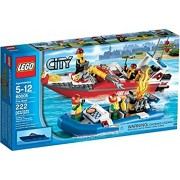Lego City Fire Boat Building Set