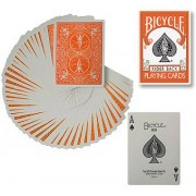 Bicycle Deck (808) Poker Orange