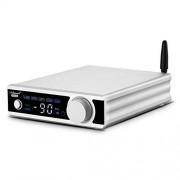 Douk Audio Amplificador de 2 canales Bluetooth 5.0 Power 2.0 CH 200W Hi-Fi estéreo Audio Amp receptor inalámbrico DAC USB/Opt/Coax para altavoces del hogar y subwoofer activo con mando a distancia
