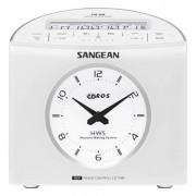 Digitális szintézeres ébresztőórás sztereó rádió, AMFM-RDS, fehér, RCR-9W