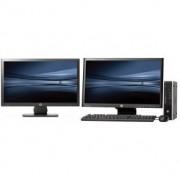 HP Elite 8100 SFF - Core i5 - 4GB - 250GB HDD + Dual 2x 22'' Widescreen LCD