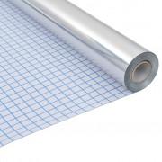 vidaXL Folie autocolantă cu efect de oglindă 0,9x5 m