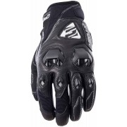 Five Stunt Evo Replica Leather Guantes Negro S