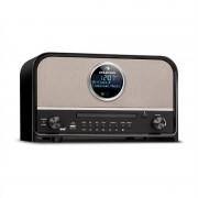 Auna Columbia, DAB радио, 60 W max., CD, DAB+/FM tuner, BT, MP3, USB, черно (TTS6-R-200)