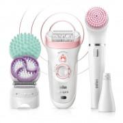 Epilator Braun - Epilator Silk-epil 9-995 Beauty set