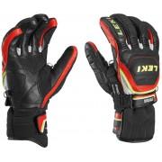 mănuși LEKI Worldcup cursă Flex Cu viteză sistem negru-rosu-alb-galben 634-80143