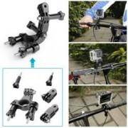 Set 19 Accesorii Camera Video Sport Gopro Ventuza Geanta De Transport Prinderi Selfie Stick Xtrems M03