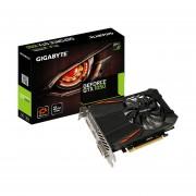 Tarjeta De Vídeo Nvidia Gigabyte GTX 1050 D5 2G GeForce 2GB GDDR5 PCI-E (GV-N1050D5-2GD)-Negro
