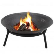 Palenisko ogrodowe 50 cm na ognisko do grilla