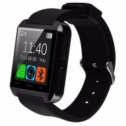 Ceas Smartwatch IMK U8+, Bluetooth, LCD 1.44, Pedometru, Barometru, Altimetru, Procesor 360MHz, Negru