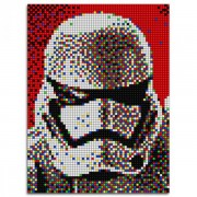 JOC CREATIV PIXEL ART STAR WARS STORMTROOPER 5400 PIESE - QUERCETTI (Q0846)
