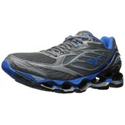 Mizuno Running Men's Mizuno Wave Prophecy 6 Running-Shoes, Griffen/Directoire Blue/Asphalt, 10. 5 D US