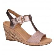 Gabor Bronzen Sandalen Gabor Comfort