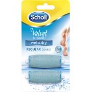 Scholl velvet wet&dry refill (2 st)