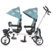 Tricicleta gemeni Chipolino 2Fun ocean