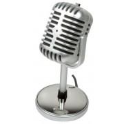 Microfon Retro LogiLink HS0036 (Argintiu)