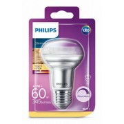 Philips reflectorlamp R63 60W E27 dimbaar