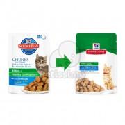 Hill's Science Plan Kitten hrana pentru pisici cu peste - la plic 12 x 85 g