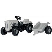Rolly Toys RollyKid little Grey Fergie m. släp - Rolly traktor Gråtass 14941