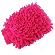 Car Cleaning Glove Cloth Micro Fibre Hand Wash(1 pcs)