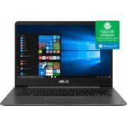 Ultrabook Asus ZenBook UX430UN Intel Core (8th Gen) i7-8550U 256GB 16GB nVidia 150MX 2GB Win10 FullHD Gri Bonus Bundle Software + Games