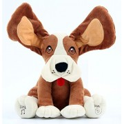 Plush Peek A Boo Singing Dog with Floppy Ears by Animal House | Plays Interactive Peek-A-Boo & Sings Do Your Ears Hang Low?