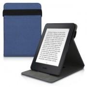 kwmobile Flipové pouzdro pro Amazon Kindle Paperwhite 3 - modrá