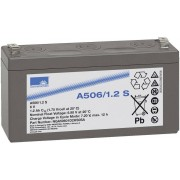 Acumulator plumb-gel cu borna plata, 6 V, 1,2 Ah Dryfit A 500