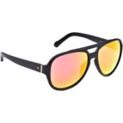 Fossil Aviator Sunglasses(Blue, Red)