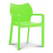 @GAAF Designstoel Monaco - Groen