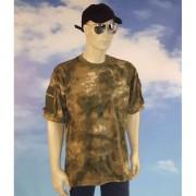 Merkloos Leger shirt camouflage voor heren