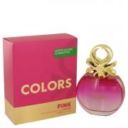 Colors Pink Eau De Toilette Spray By Benetton 2.7 oz Eau De Toilette Spray
