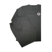 Marten pyžamo s dlouhým rukávem AH5805-0 XL tmavě šedá