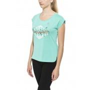 Odlo TEBE Hardloopshirt korte mouwen Dames groen L 2016 Hardloopshirts