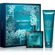 Versace Eros lote de regalo XV. eau de toilette 100 ml + gel de ducha 150 ml