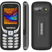 HEEMAX H7 (Dual Sim 1.8 Inch Display 1000 Mah Battery 1 YEAR WARRANTY Made In India )BLACK