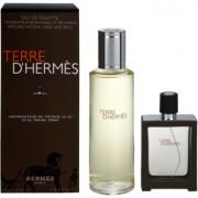 Hermès Terre d'Hermes lote de regalo XVI. eau de toilette recargable 30 ml + eau de toilette recarga 125 ml