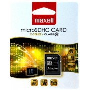Micro SD Card, 32GB, MAXELL, 1xAdapter, Class10