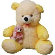 MS Aradhyatoys Sitting Teddy Bear soft toy Cream 80cm