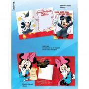 Biglietti d' auguri per laurea disney mickey mouse (topolino) e minnie confezione da 12 pezzi assortiti in 2 soggetti 246 1221