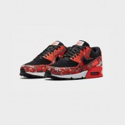 Nike Air Max 90 Print Black/Brt Crimson/White
