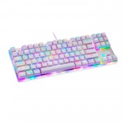 MOTOSPEED K87S USB Wired Mechanical Game Keyboard with RGB Backlight 87 Keys Red Switch