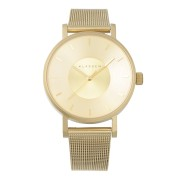 【50%OFF】Volare Gold 36mm メッシュベルト 腕時計 ゴールド ファッション > 腕時計~~レディース 腕時計