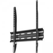 Стенна стойка за телевизор HAMA 118104, Фиксирана, 35 кг, VESA 400, Черна, HAMA-118104