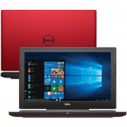 "Laptop Gamer Dell Notebook 15.6"" 5587 i7-8750H 16GB 2TB 128SSD GTX1050Ti 4gb ROJO"
