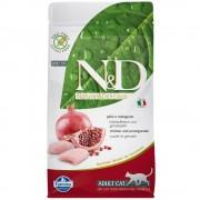 N&D Grain Free Cat Farmina N&D Grain Free Adult Cat Pollo e Melograno - 5 kg