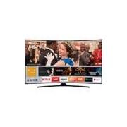 Smart TV LED Curva 49 Samsung 49MU6300 UHD 4k com Conversor Digital 3 HDMI 2 USB Espelhamento de Tela - Preta