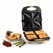Trinity griglia per sandwich 3 in 1 XXL 1300 W color crema